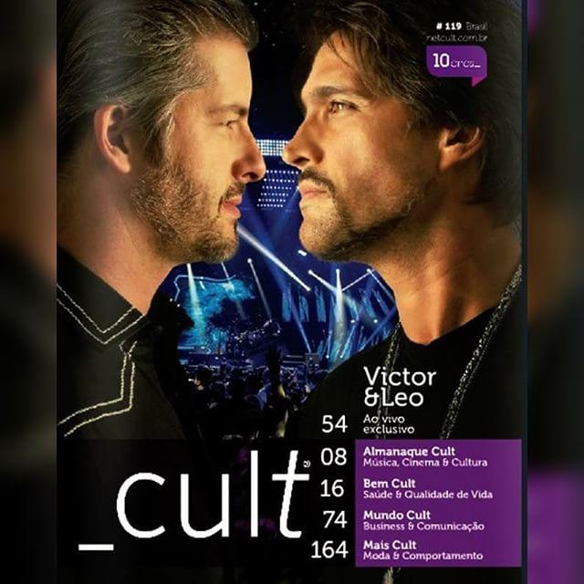 Victor & Leo na Revista Cult