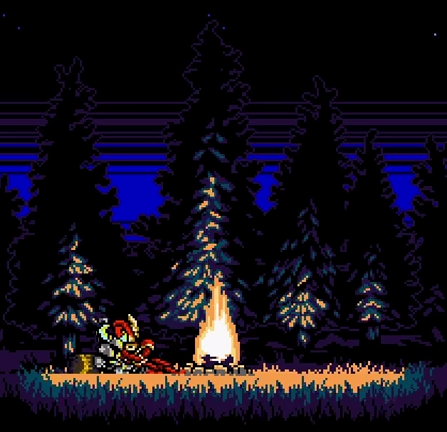 Shovel Knight End