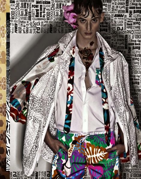Filip Bala by Krzysztof Wyzynski for Dorian Magazine