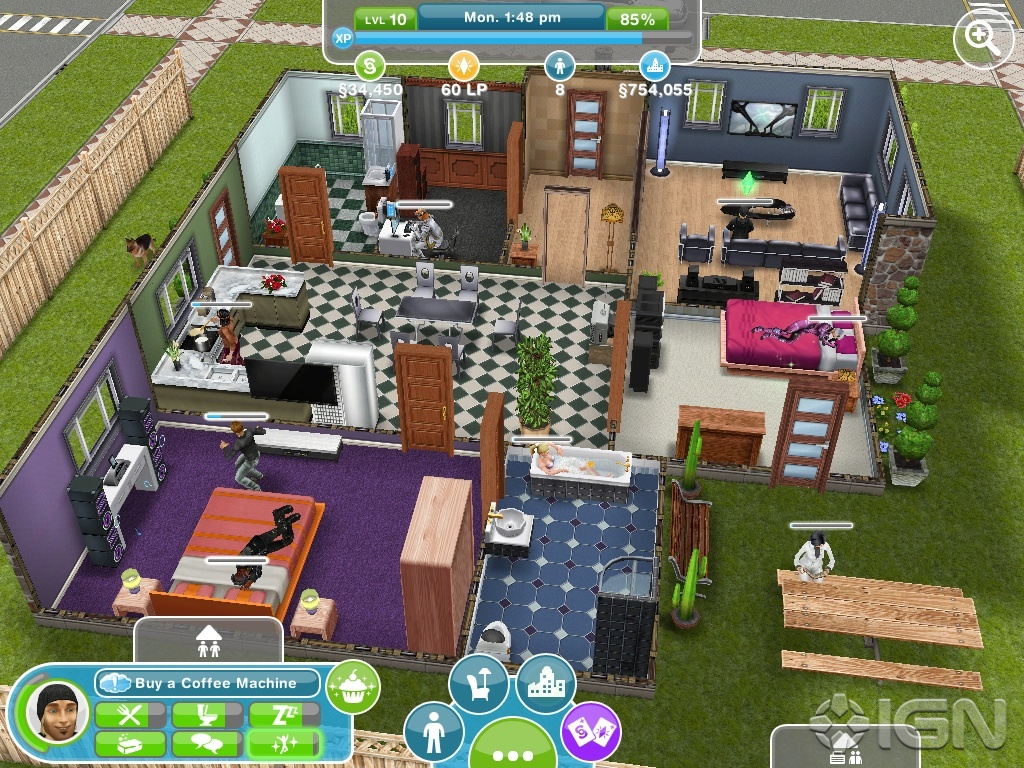 how to play sims freeplay on facebook