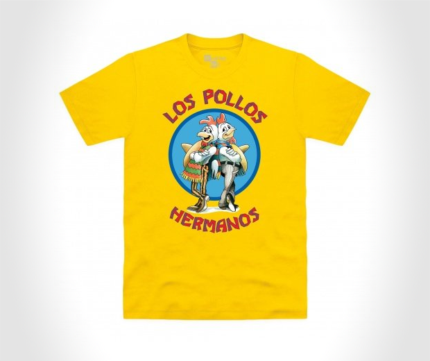 Official Breaking Bad - Los Pollos Hermanos Organic T Shirt