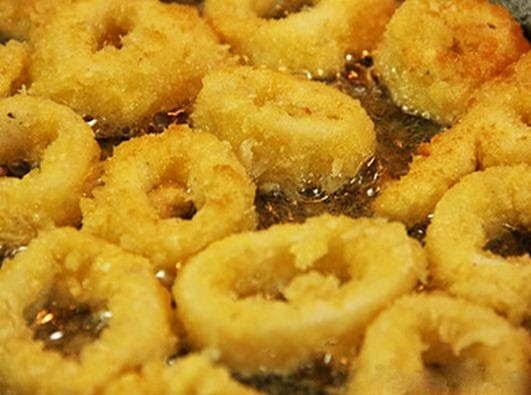 (Mực Chiên Giòn) - Fried Crispy Squids