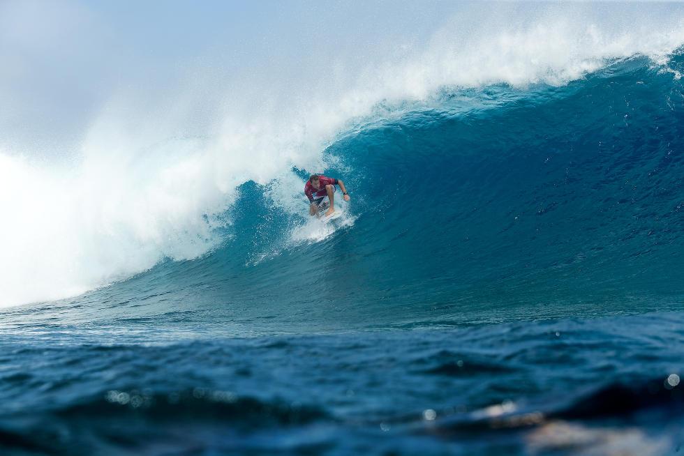 41 Bede Durbidge Billabong Pro Tahiti Foto WSL Stephen Robertson