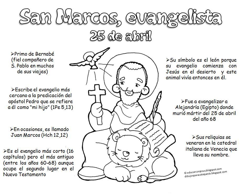 La Catequesis (El blog de Sandra): Recursos Catequesis San Marcos ...