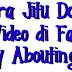 Cara Jitu dan mudah Download Video Di Facebook
