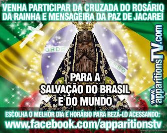 PARTICIPEM DA CRUZADA DO ROSÁRIO MEDITADO