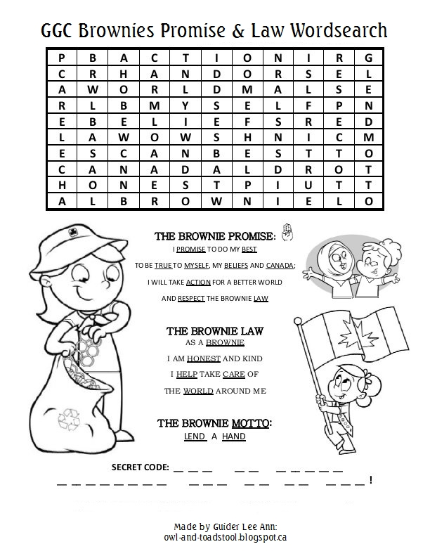 owl amp toadstool wordsearch puzzles  gg history promise amp law