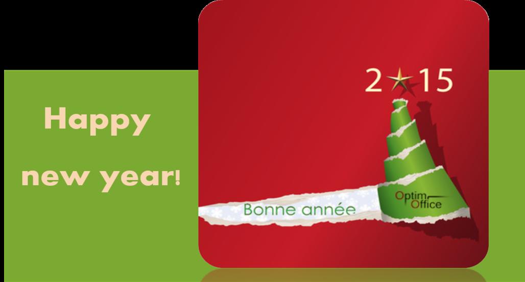 Meilleurs voeux pour une année 2015 éblouissante