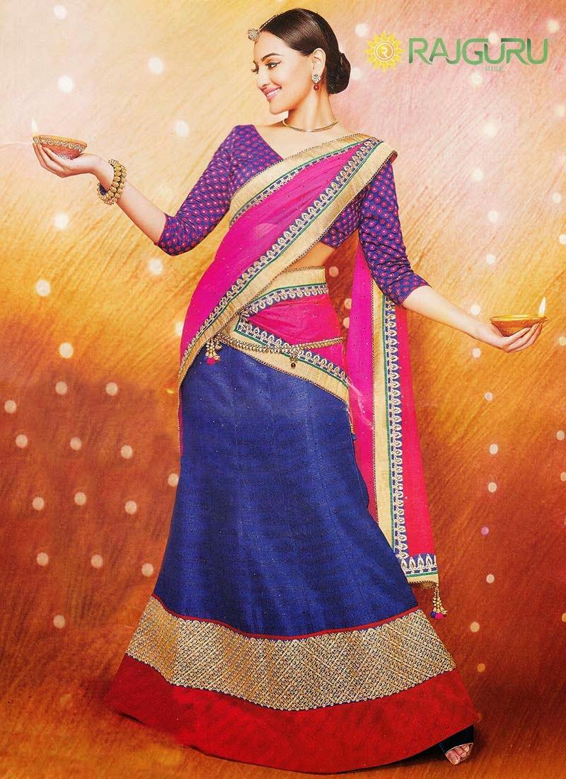 http://www.cbazaar.com/party-wear-saree/lehenga-style-drapes/stupendous-sonakshi-sinha-lehenga-saree-p-samrgu1442.html