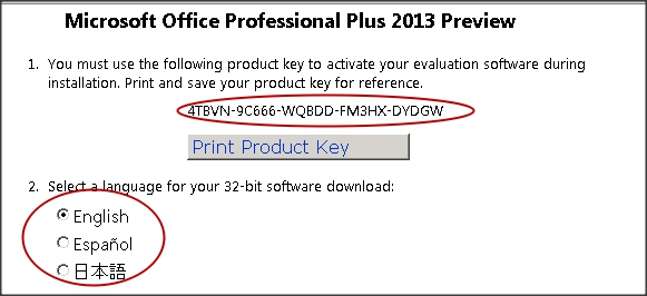 microsoft office 2013 with serial key