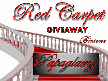 RED CARPET GIVEAWAY BERSAMA PAPAGLAMZ