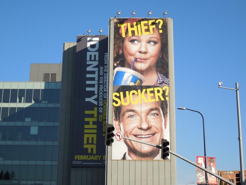 Identity Thief movie billboard