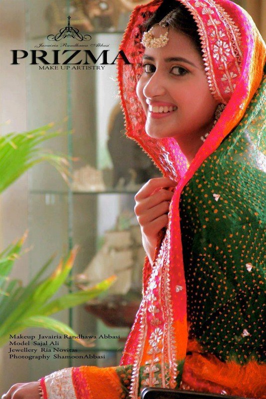 Pakistani Actress Sajal Ali Wedding Photo Shoot 2013