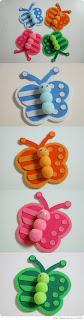 moldes para feltro e e.v.a de borboletinhas