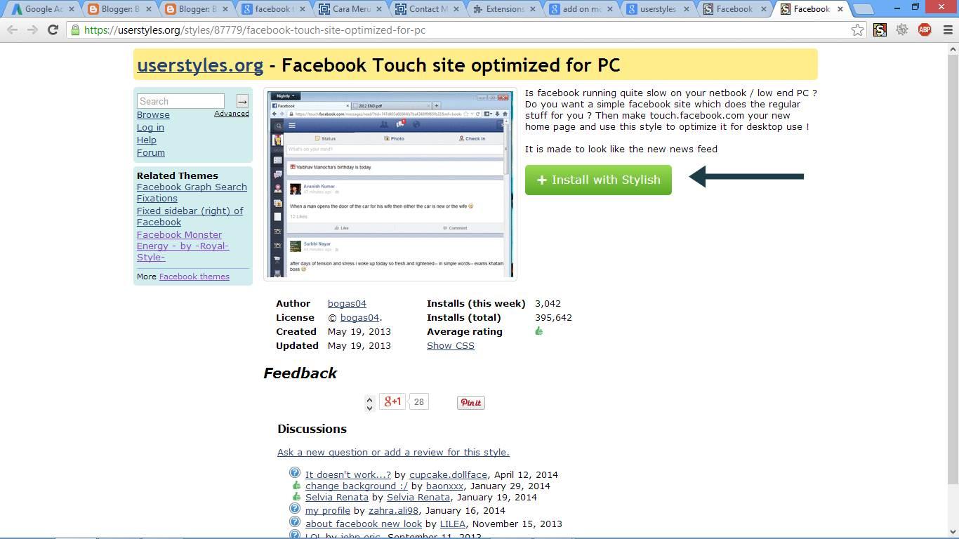 Cara Merubah Tampilan Facebook gambar 2