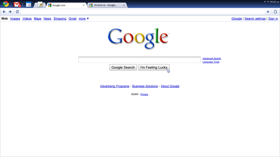 Screenshoot google chrome