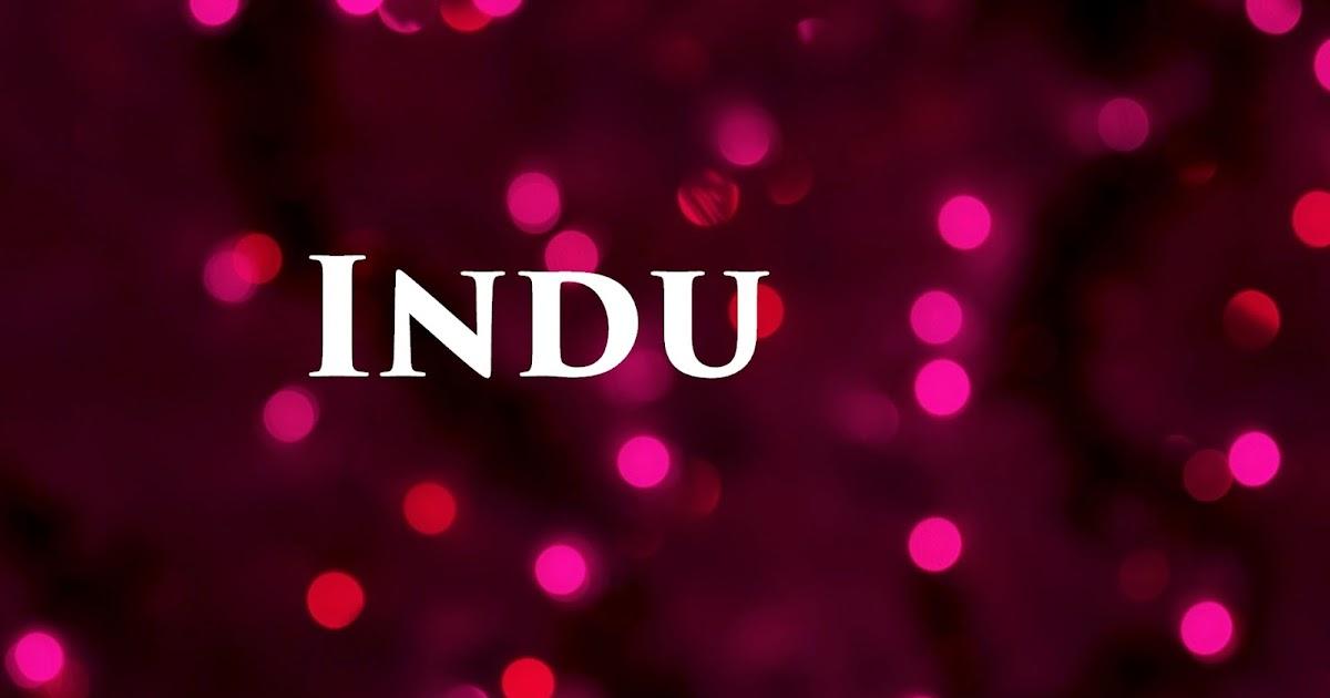 Indu Name Wallpapers Indu Name Wallpaper Urdu Name Meaning Name