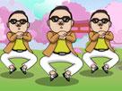 Gangnam Style Dansı 3 Oyunu