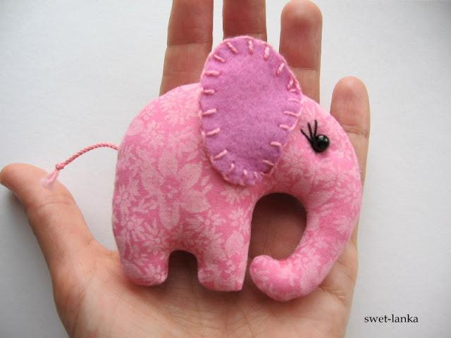 карманный слоник МК