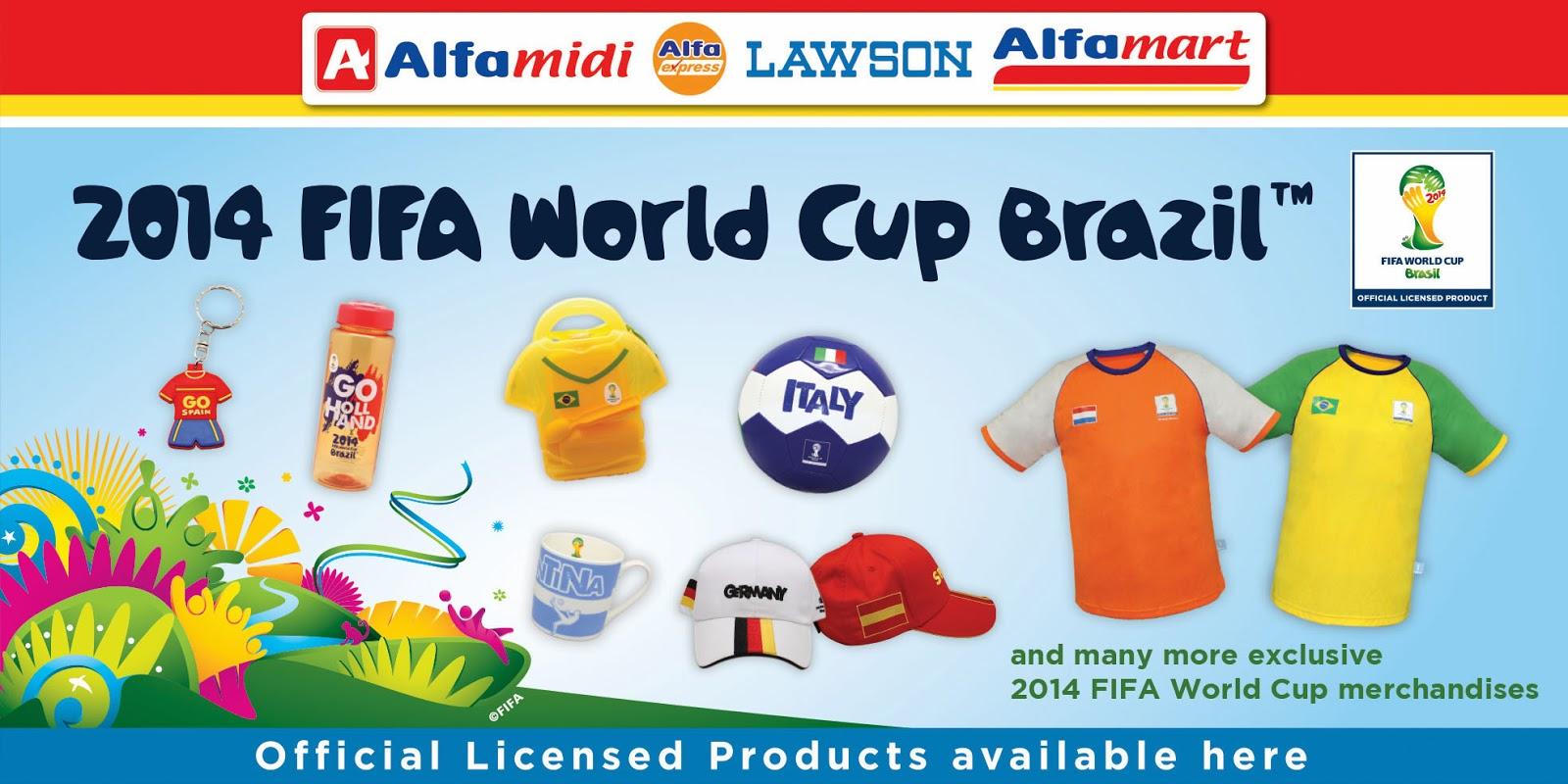 merchandise fifa piala dunia brazil 2014