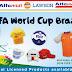 Alfamart official partner merchandise FIFA piala dunia Brazil 2014