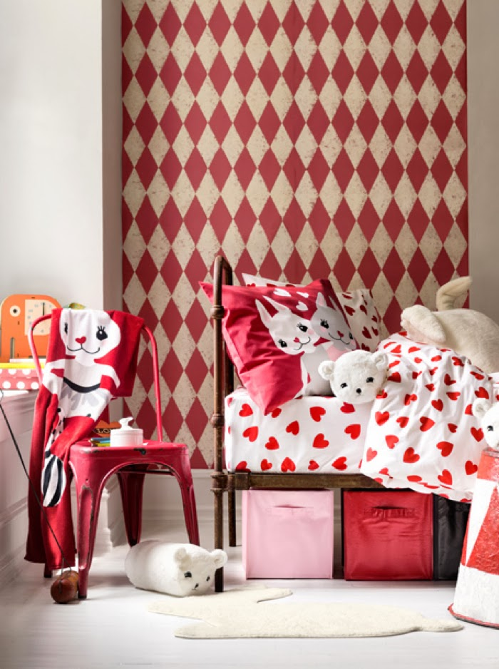 H&M kids room collection for a girl