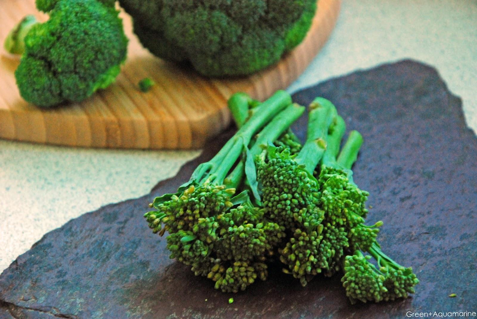 Tenderstem vs normal broccoli nutrition, superfood