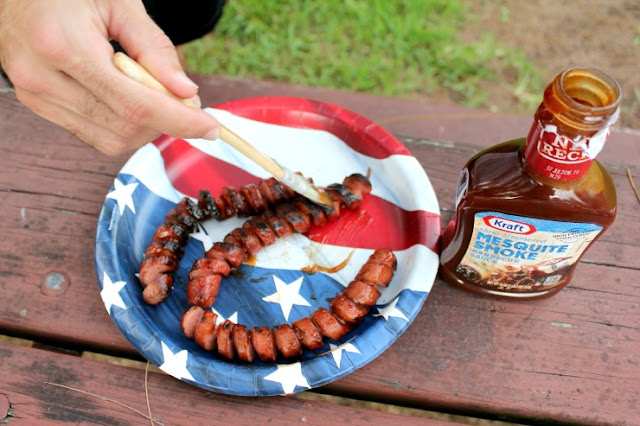 Perfect Fourth of July Menu: BBQ Spiral Hot Dogs and the Easiest Dessert Ever! #FireUpTheGrill #ad