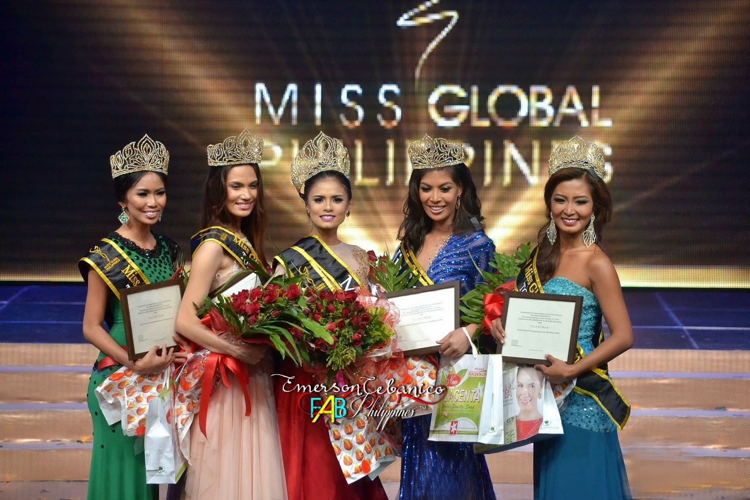 Miss Global Philippines 2014 Coronation Night