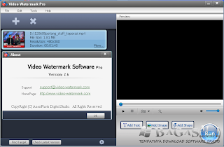 Editing Video Watermark Pro 2.6 Full