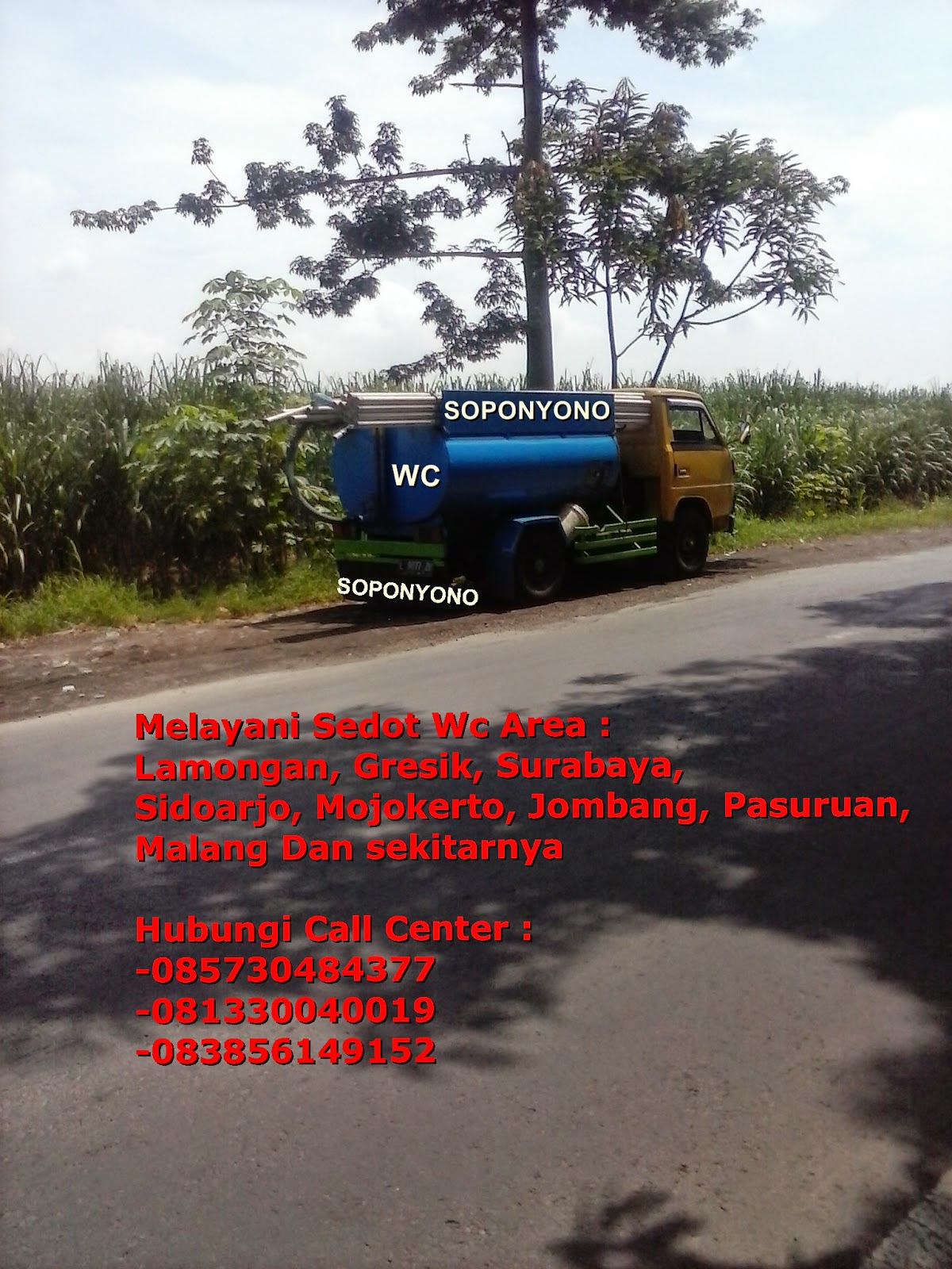 Sedot Wc dan Service Wc Blimbing, Malang || SOPONYONO
