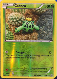 Cacnea BREAKthrough Pokemon Card