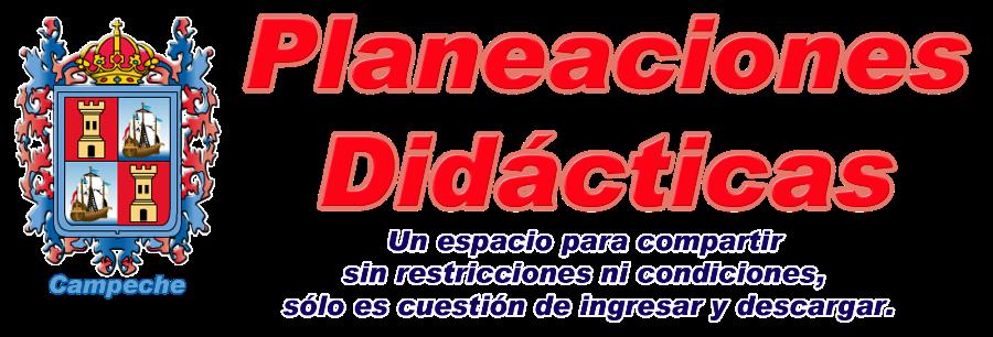 Planeaciones Didácticas