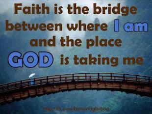 Confía, Dios te guía.