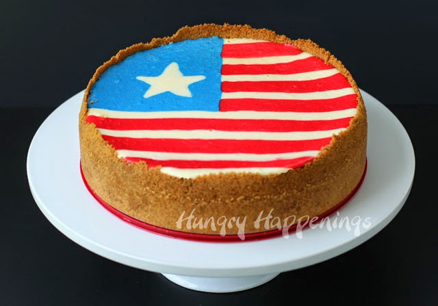 Flag Cheesecake