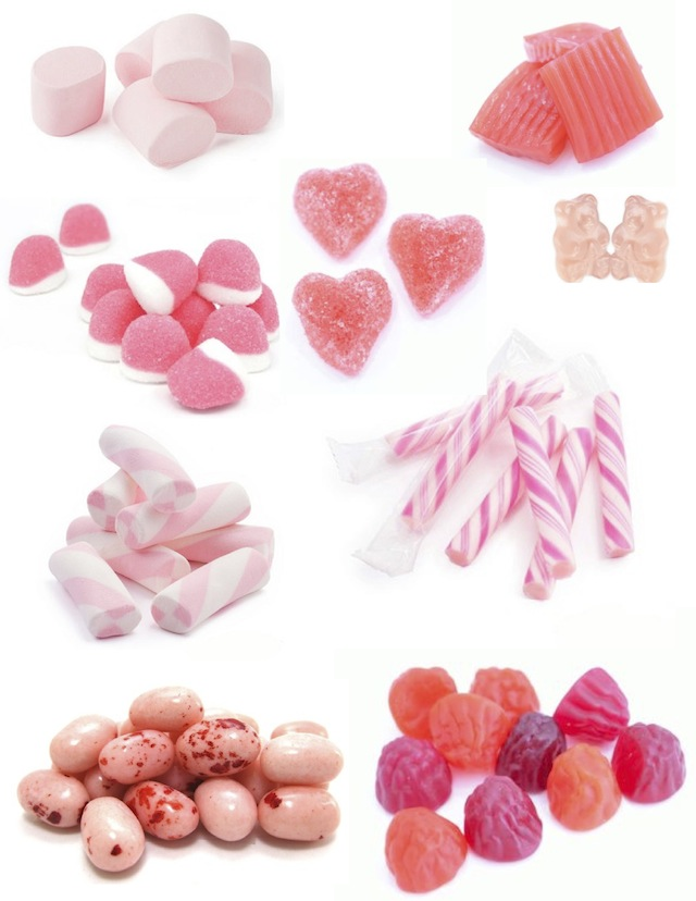 Cake And Baking Supplies Pink Candy Decorations For
