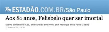 Flávia Tavares - O Estado de S.Paulo