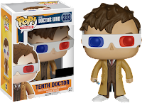 Funko Pop! Dr. Who 10th 3d glasses