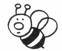 animais para pintar, animais para imprimir, animais,desenhos para imprimir, desenhos para pintar, abelhas