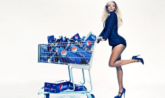 Beyonce égérie Pepsi Cola Superbowl 2013