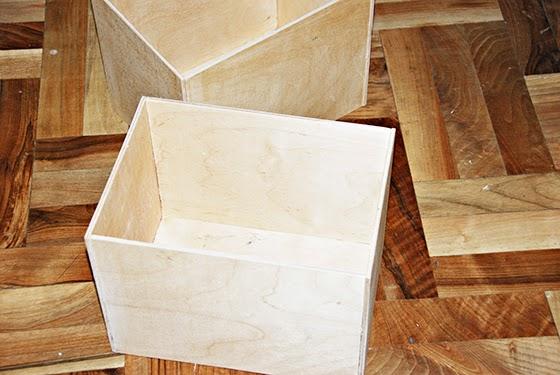 Как сделать ящик из ламината