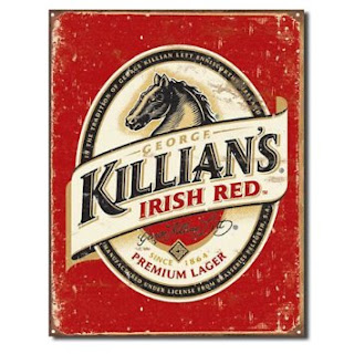 killians beer logo vintage tin sign for man caves