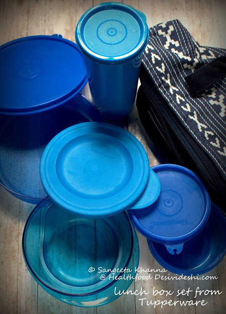 tupperware lunch box set