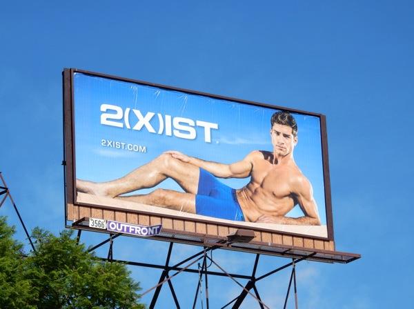 2Xist underwear 2015 billboard