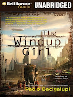 Cover of The Windup Girl by Paolo Bacigalupi