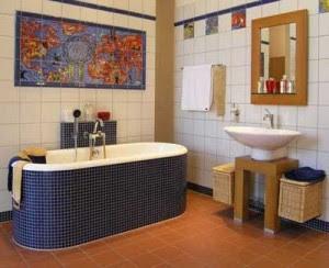 Banheiros Decorados azul