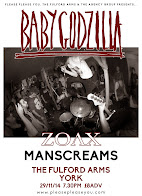 Baby Godzilla + Zoax + Manscreams