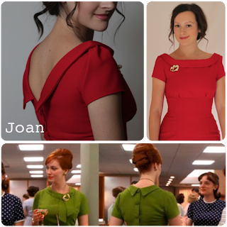 Julia Bobbin, Mad Men Dress Challenge 2