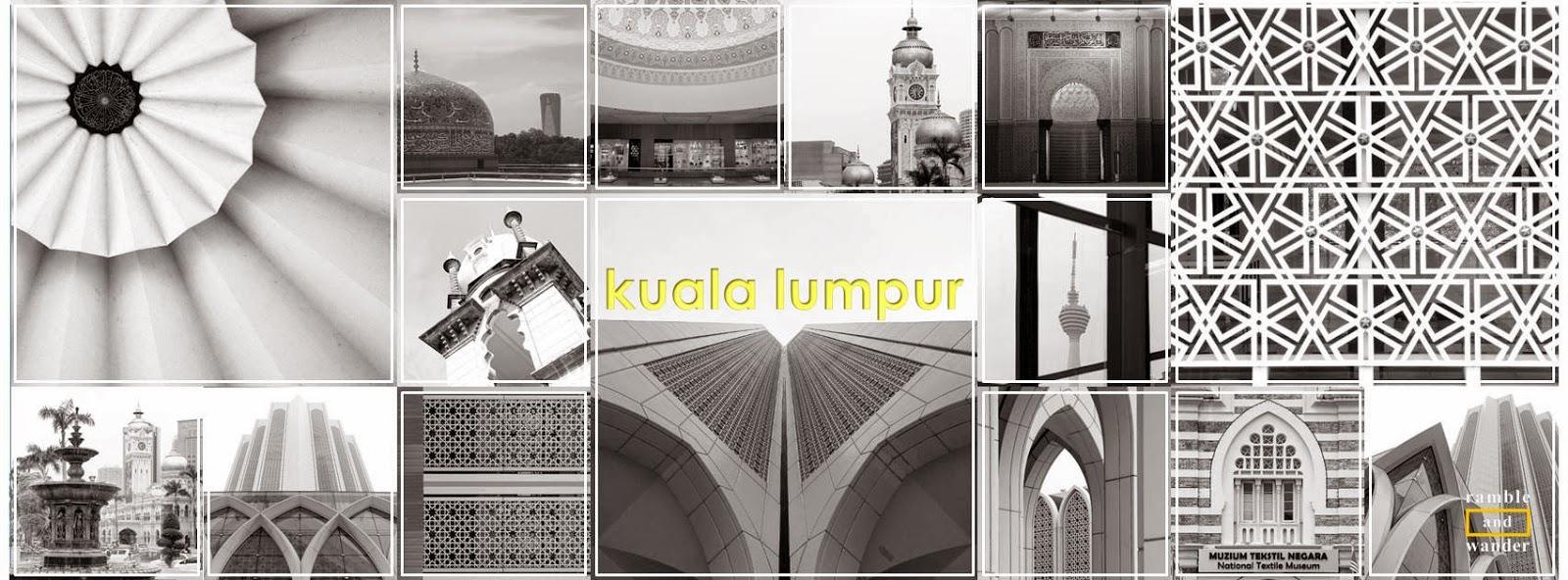 Kuala Lumpur in Black and White