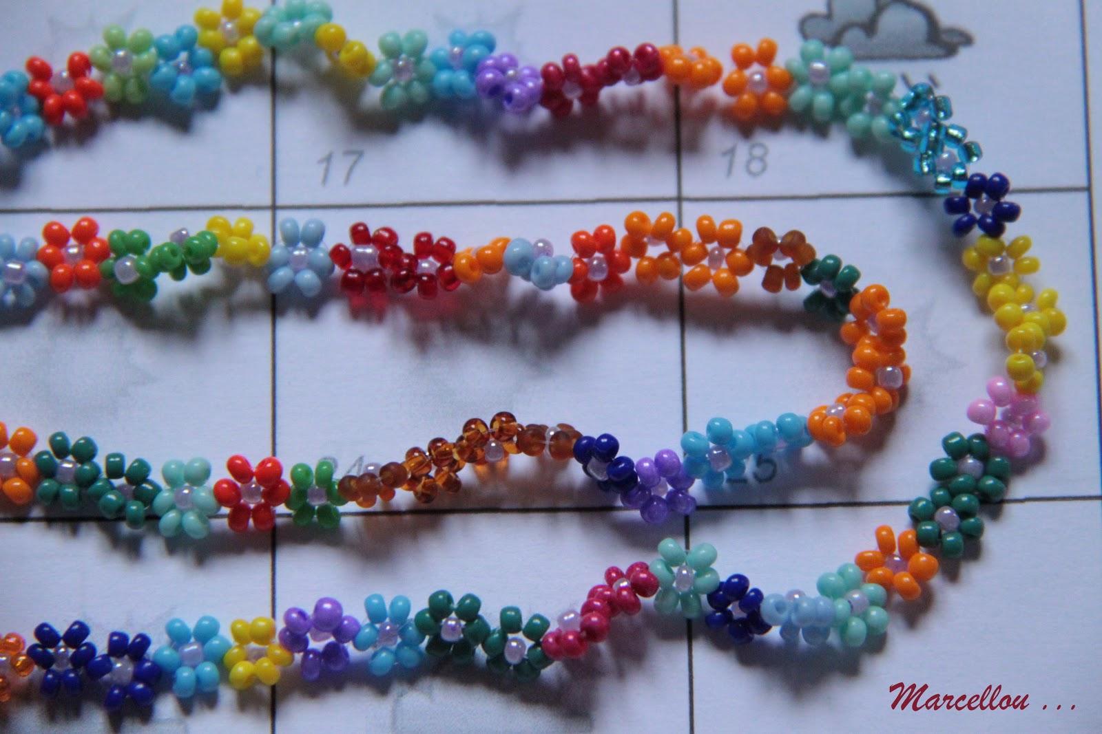 Bracelet Perle Fleur Tuto
